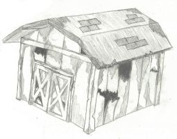 Shed Final (Uncolored) by Seanachaidh125