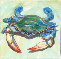Blue Crab-3 by samtaylor5