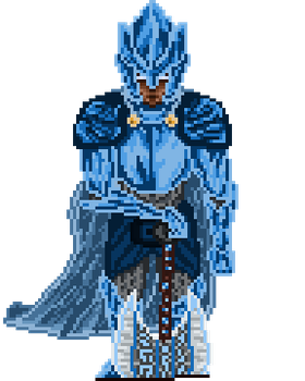 The Azure Knight by Mangonisium