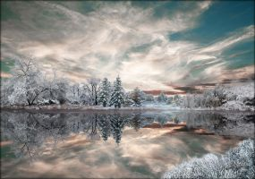Winter Pond 4 by MichaelAtman