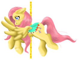 Fluttershy Carousel by Mirrorslily