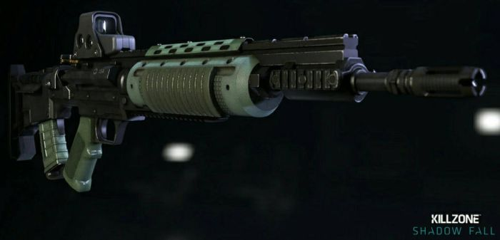 M82 Assault Rifle in Killzone Shadow Fall by Karma45