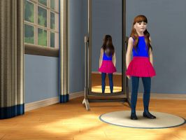 Sims 3 - Denise Nickerson in everyday outfit 2 by Magic-Kristina-KW
