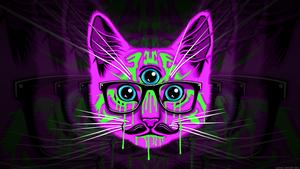 Meow wallpaper by GaryckArntzen