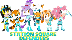 Station Square Defenders by DefectiveStudios