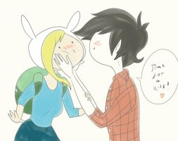 Fiona and Marshall Lee by Izachian