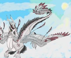 Compass Dragon by Spellcheck-15