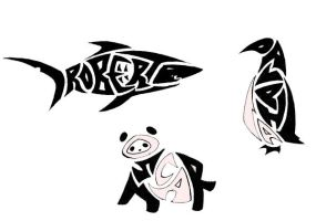 Name:Animal Tribal Tattoos by Ironwolf09