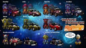 Transformers - ModNation Racers by Simon-Williams-Art