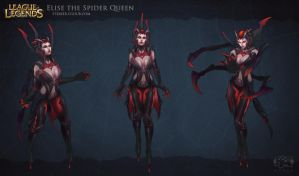 Elise The Spider Queen by sstrikerr