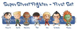 Super Street Fighter First Set02 by Costalonga