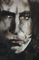 Severus Snape by soybeans