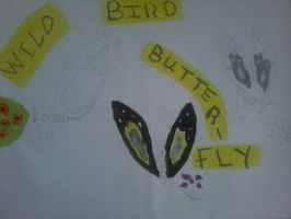 The Wild Bird Butterfly by haileysthelimit
