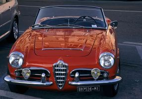 Alfa Romeo Giulia Spider 1600 by UdoChristmann