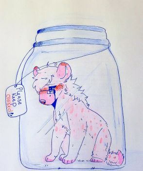 .: You Can't Keep Bottling Up Your Emotions :. by Tired-Mutt