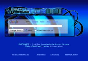 Alice In Videoland Startpage by AwesomeStart