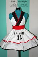 Kuroko -Seirin High- Cosplay Pinafore Commission by DarlingArmy
