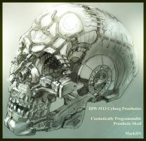 Prosthetic Skull by Nicoll