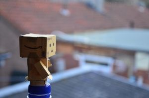 Little lost Danbo by glaasje