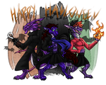 .: A Very Fandom Halloween :. by DragonPortal