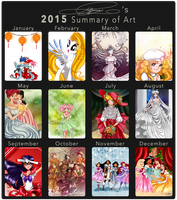 2015 Art Meme by selinmarsou