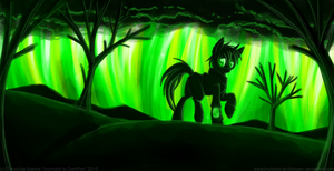 Fo:Eq - Born from Green Hellfire by InuHoshi-to-DarkPen