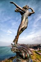 Ifracombe statue 1 by CharmingPhotography