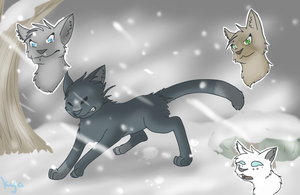 Bluestar's Prophecy SPEEDPAINT by Kyaflufflewolf