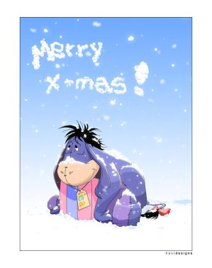 christmas eeyore graphics and comments