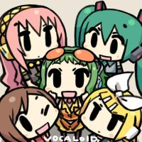 VOCALOID GIRLS by chanco