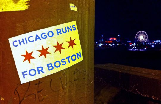 Chicago is Boston Strong by RaCzarina