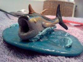 Fish: Painted: Gloss: Face by Spaz-Twitch11-15-10