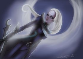 Diana scorn of the moon by TheEmpa