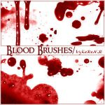 Blood Brushes by KeRen-R by Project-GimpBC