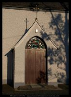 Legan Church Doorway by fluffyvolkswagen