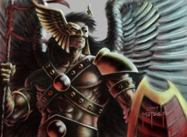 Hawkman Guardian - screensaver by JMan-3H