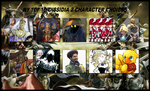 My Top 10 Dissidia 2 Character Choices by 4xEyes1987