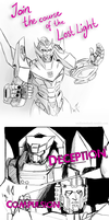 Lost Light Adventures by Uniformshark
