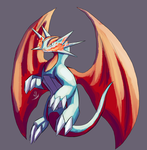 Salamence by MechaSvitch