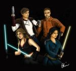 Kotor Ladies and Their Boys by Ahmie