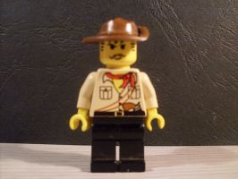 Lego Johnny Thunder II by V-kony