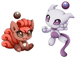 Chao pokemon by Extra-Fenix