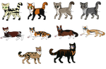 Offer Adopts- Cats 17 Animal Edition -free- -Sale- by LadyLirriea