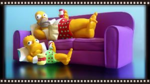 Simpsons Sofa by iFab