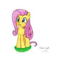 Super Adorable Fluttershy by UlyssesGrant