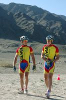 Mountain bikers by voldemometr