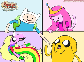 Adventure Time by junolastimosa