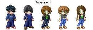3waycrash tg Crystal by elrunion136