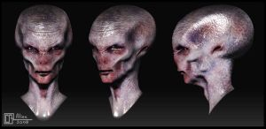 Swansea Alien by CB-FX