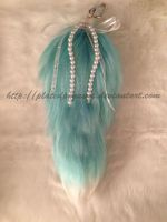 Ice- Blue Tail With White Tip (SOLD) by PlatedPegasus